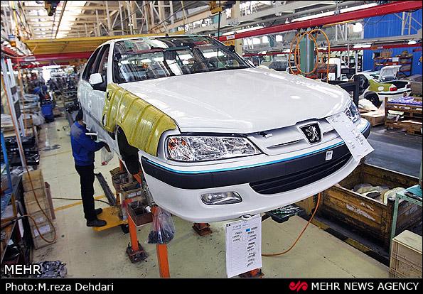 تولید خودروسازان ایرانی چه میزان کاهش یافت؟