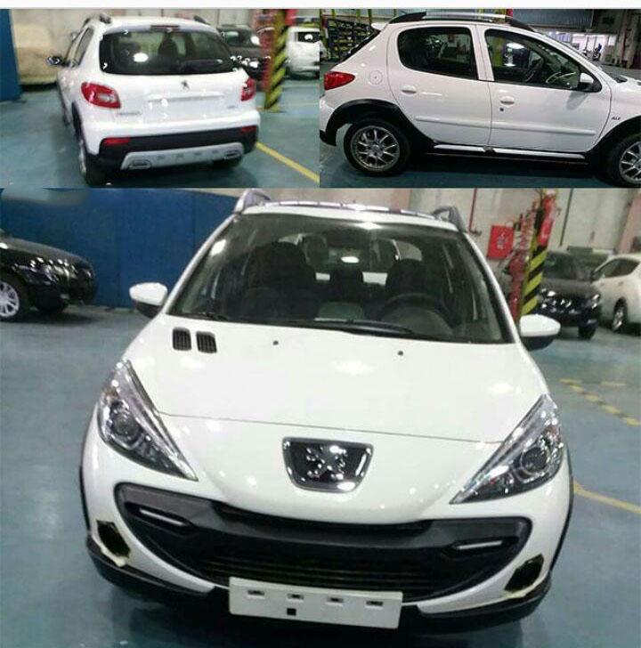 تولید 207 جدید در ایران خودرو +عکس