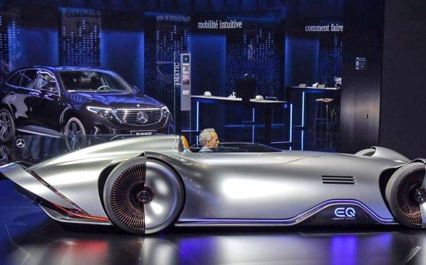 برترین های نمایشگاه اتومبیل پاریس را ببینید